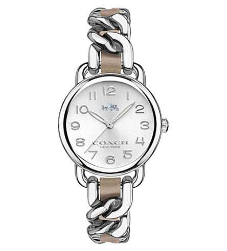 COACH 14502254 Delancey stainless steel watch