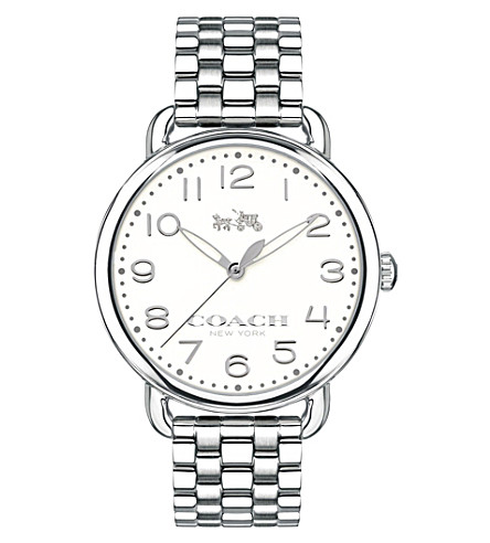 COACH 14502260 Delancey stainless steel watch