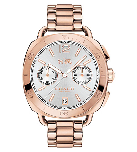 COACH Tatum two-tone steel chronograph watch