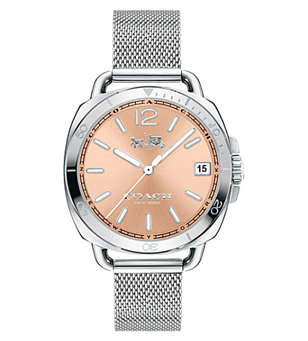COACH Tatum two-tone stainless steel watch