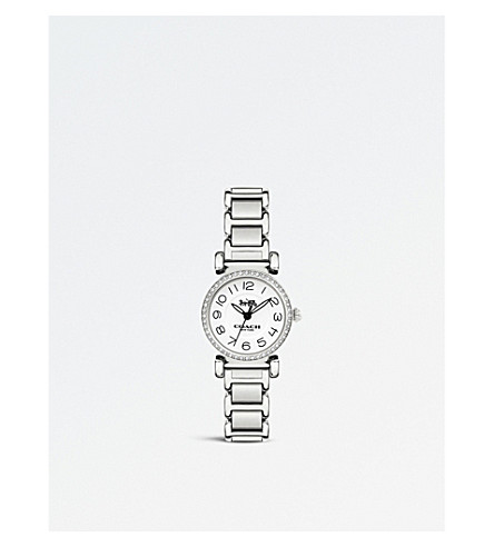 COACH 14502851 Madison stainless steel quartz watch