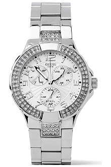 GUESS 14503L1 Prism stainless steel chronograph watch