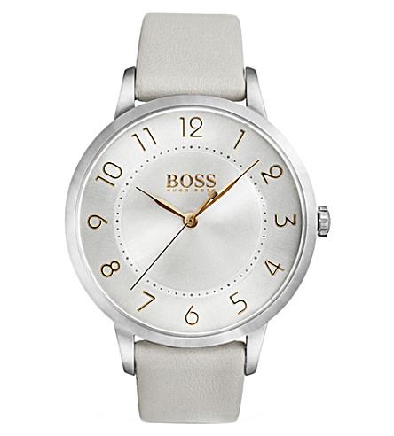 BOSS 1502405 Eclipse stainless steel quartz movement watch