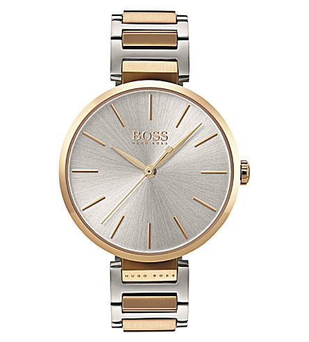 BOSS 1502417 Allusion two-tone stainless steel watch