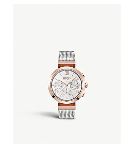BOSS 1502427 Classic Sports rose gold-plated quartz watch