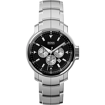 HUGO BOSS 1512109 Classic patterned chronograph watch (Black
