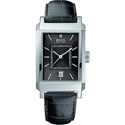 HUGO BOSS 1512225 stainless steel watch (Black