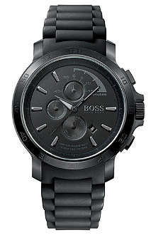 HUGO BOSS Black rubber watch