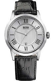 HUGO BOSS Embossed dial men's watch