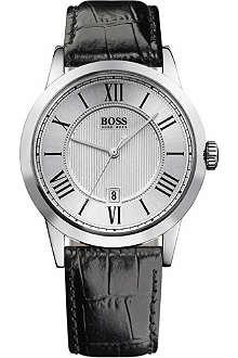 HUGO BOSS Embossed dial men's watch