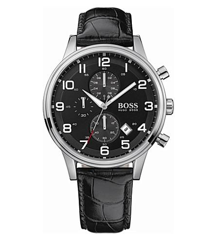 HUGO BOSS 1512448 classic steel watch (Black