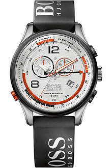 HUGO BOSS 1512501 Logo strap chronograph watch