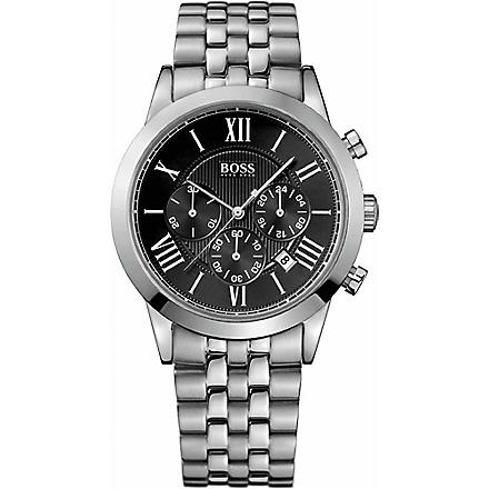 HUGO BOSS 1512572 Stainless steel chronograph watch (Silver