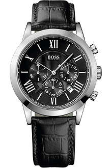 HUGO BOSS 1512574 Classic croc chronograph watch