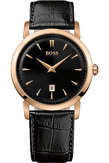HUGO BOSS 1512635 gold-plated watch