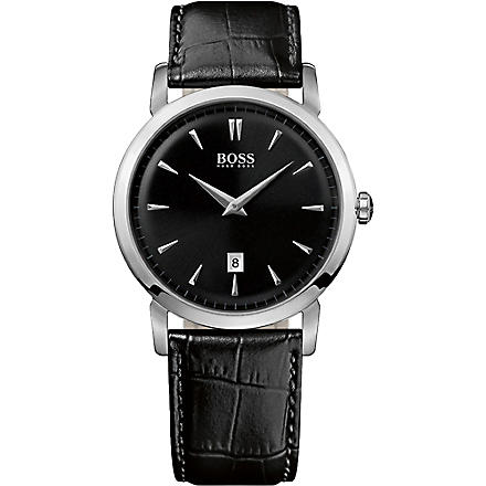 HUGO BOSS 1512637 stainless steel watch (Black
