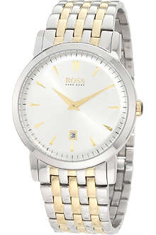 HUGO BOSS 1512721 two-tone stainless steel watch