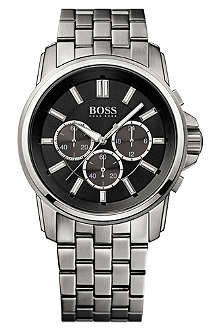 HUGO BOSS 1513046 stainless steel chronograph origin watch