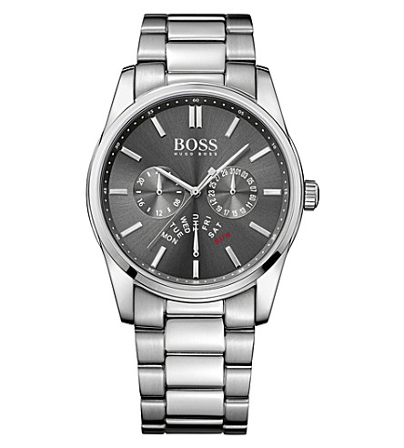 BOSS 1513127 heritage stainless steel watch (Grey