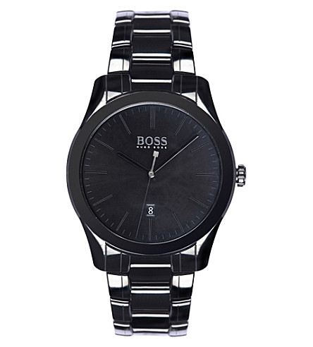 BOSS 1513223 GQ ceramic watch (Black