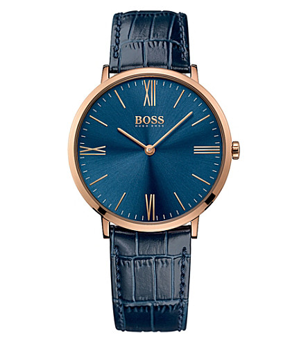 BOSS 1513371 Jackson rose gold-plated stainless steel watch