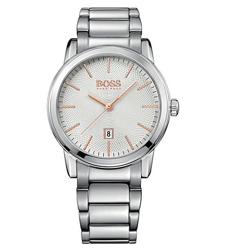 BOSS 1513401 经典不锈钢表
