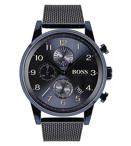 BOSS 1513538 GQ quartz steel watch
