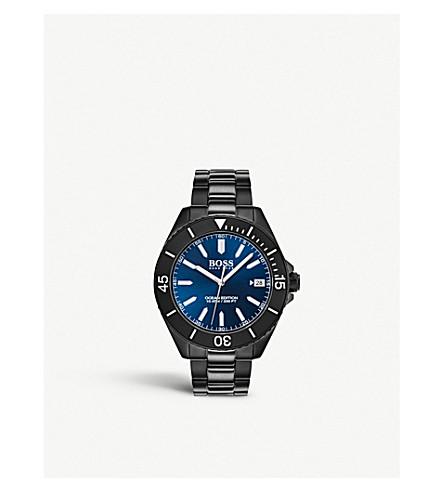 BOSS 1513559 Ocean Edition stainless steel quartz watch