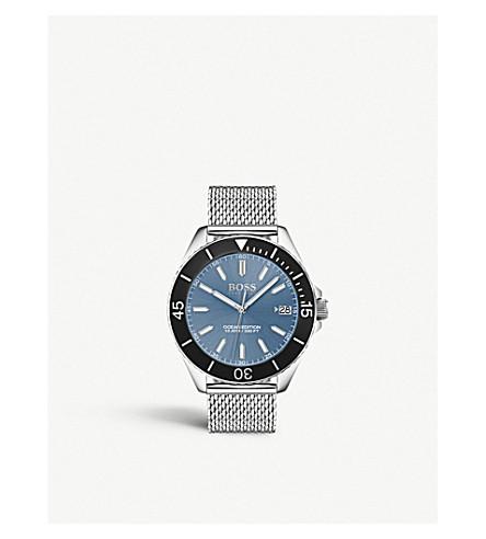 BOSS 1513561 Ocean Edition stainless steel quartz watch