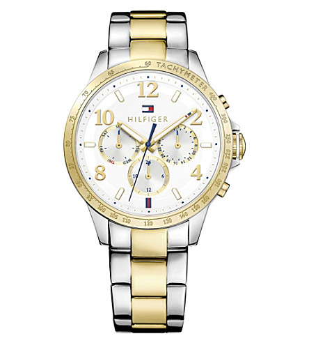 TOMMY HILFIGER 1781644 stainless steel watch (White