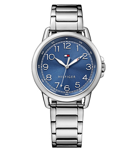 TOMMY HILFIGER 1781655 stainless steel watch (Blue