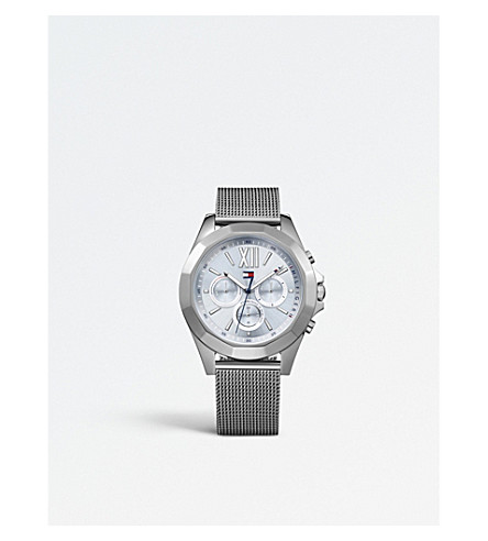 TOMMY HILFIGER 1781743 Chelsea ion-plated stainless steel watch