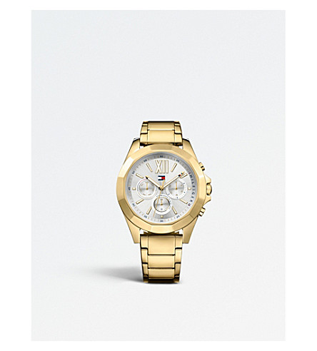 TOMMY HILFIGER 1781848 Chelsea ion-plated stainless steel watch