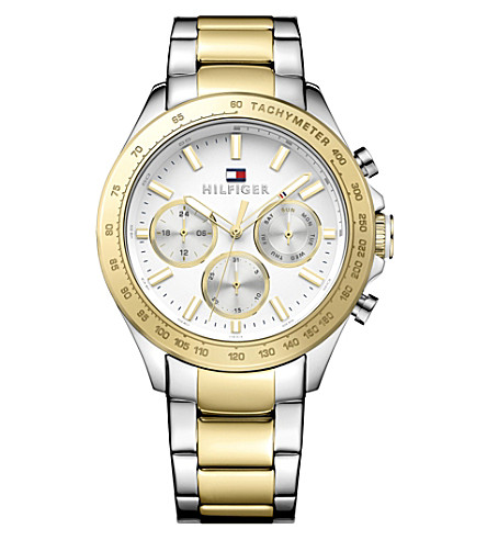TOMMY HILFIGER 1791226 stainless steel watch (White