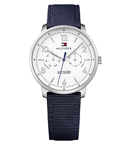 TOMMY HILFIGER 1791358 stainless steel chronograph watch
