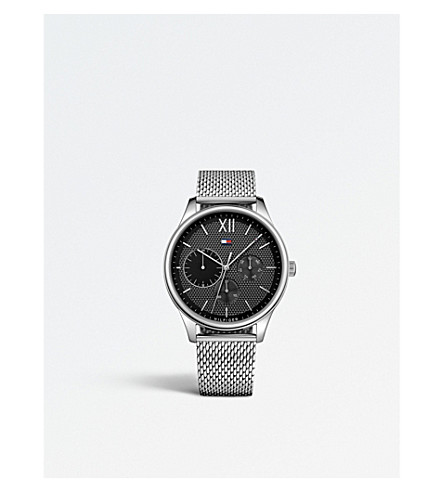 TOMMY HILFIGER 1791415 Damon stainless steel watch