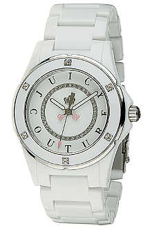 JUICY COUTURE 1900579 stainless steel and acetate watch