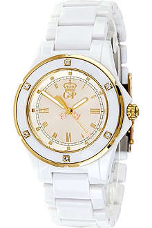 JUICY COUTURE Rich Girl plastic ladies' watch