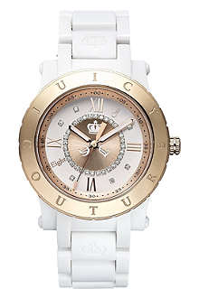 JUICY COUTURE 1900844 stainless steel and plastic watch