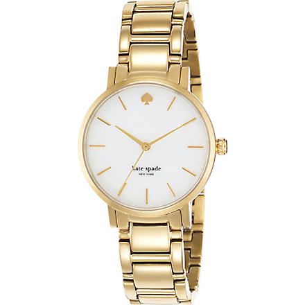 KATE SPADE 1YRU0002 Gramercy stainless steel watch (Gold