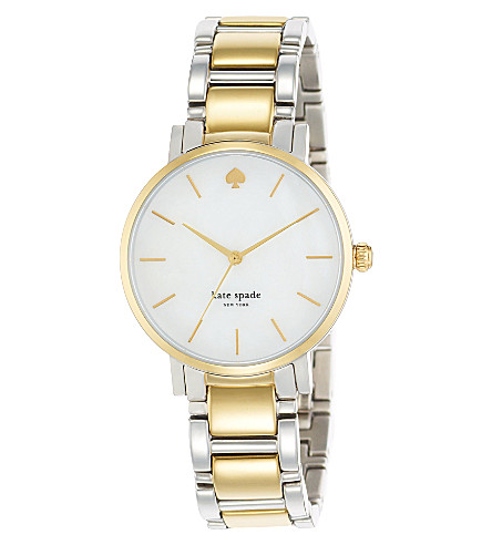 KATE SPADE 1YRU0005 Gramercy stainless steel watch (Steel & gold
