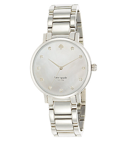 KATE SPADE 1YRU0006 Gramercy stainless steel watch (Steel