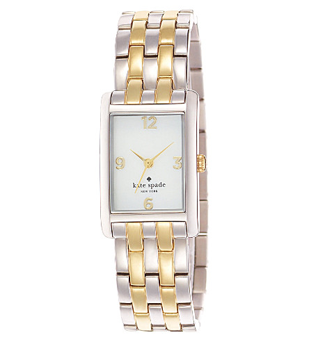 KATE SPADE 1YRU0038 Cooper stainless steel watch (Steel & gold