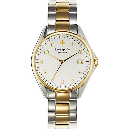 KATE SPADE 1YRU0093 Seaport stainless steel watch (Steel & gold