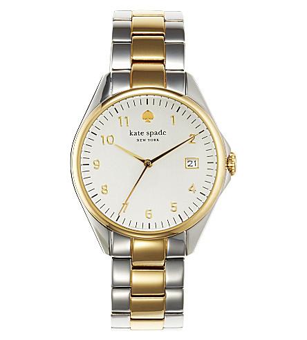 KATE SPADE 1YRU0093 Seaport stainless steel watch (Steel & gold