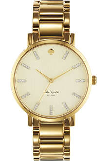 KATE SPADE 1YRU0096 Gramercy Grand stainless steel watch