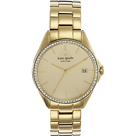 KATE SPADE 1YRU0102 Seaport stainless steel watch (Gold