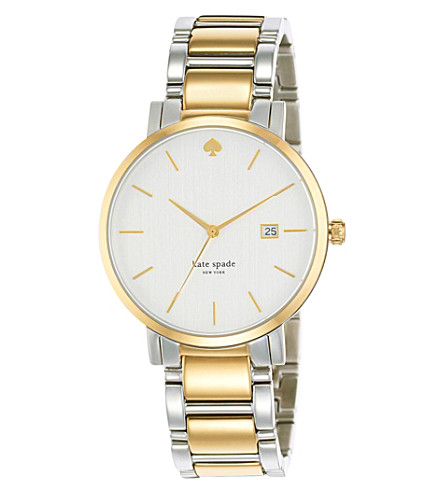 KATE SPADE 1YRU0108 Gramercy two-tone watch