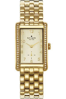 KATE SPADE 1YRU0118 Cooper gold-toned stainless steel watch
