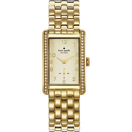 KATE SPADE 1YRU0118 Cooper gold-toned stainless steel watch (Gold